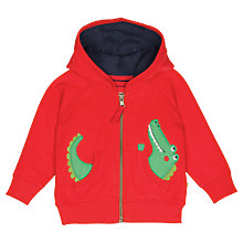 Buy Frugi Baby Bertie Crocodile Hoody, Multi Online at johnlewis.com