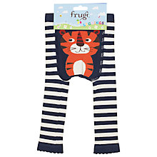 Buy Frugi Baby Knitt Tiger Leggings, Multi Online at johnlewis.com