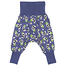 Buy Frugi Baby Parsnip Duck Pants, Purple Online at johnlewis.com