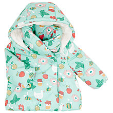 Buy John Lewis Baby's Honey Pot Wadded Coat, Multi Online at johnlewis.com