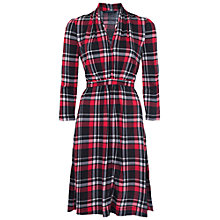 Buy French Connection Clarence Check Jersey Dress, Multi Online at johnlewis.com