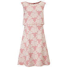 Buy Phase Eight Lavinia Jacquard Dress, Candy Online at johnlewis.com