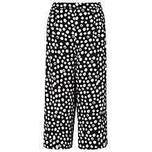 Buy Phase Eight Dorothy Spot Culotte, Black/Ivory Online at johnlewis.com