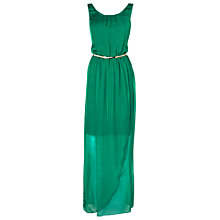 Buy Phase Eight Elsa Silk Maxi Dress, Green Online at johnlewis.com