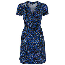 Buy French Connection Animal Jersey Dress, Navy Online at johnlewis.com