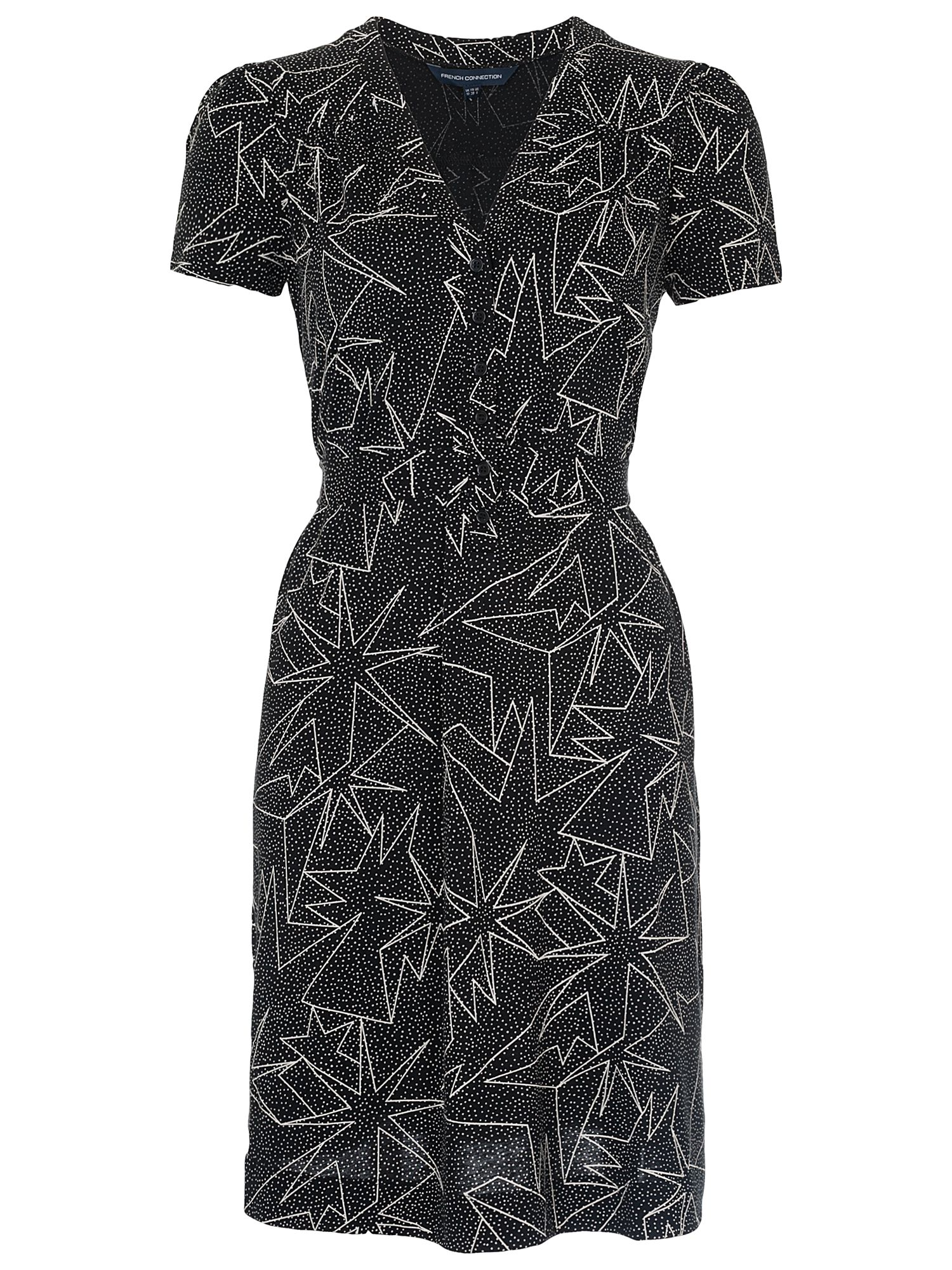 french connection star jersey dress black/white, french, connection, star, jersey, dress, black/white, french connection, 8|16|12|10|14|6, women, womens dresses, 1911190