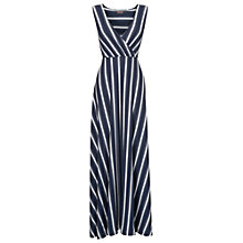 Buy Phase Eight Fran Faded Stripe Maxi Dress, Blue Online at johnlewis.com