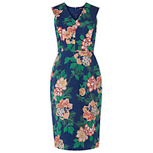 Buy Phase Eight Lia Cotton Dress, Blue Online at johnlewis.com