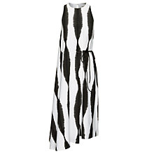 Buy Whistles Sekka Striped Dress, Black/White Online at johnlewis.com