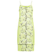 Buy Whistles Palm Tillie Strap Dress, Lime Online at johnlewis.com