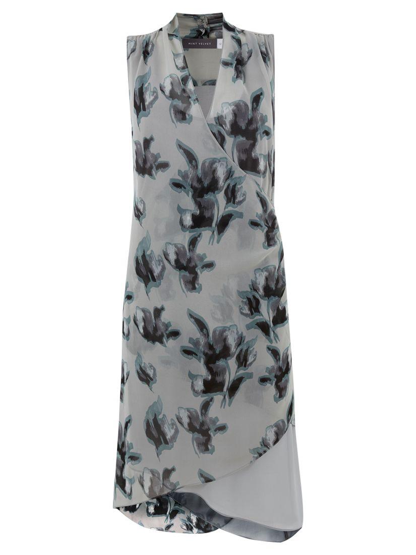 mint velvet zena print asymmetric dress multi, mint, velvet, zena, print, asymmetric, dress, multi, mint velvet, 18|14|12|10|16|8, fashion magazine, women, brands l-z, womens dresses, 1917625