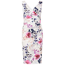 Buy Phase Eight Nara Rose Cotton Dress, Multi Online at johnlewis.com