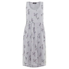 Buy Mint Velvet Bluebell Print Midi Dress, Lilac Online at johnlewis.com