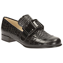 Buy Clarks Orla Kiely Alice Leather Buckled Loafers Online at johnlewis.com