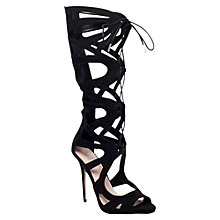 Buy Carvela Gylda Knee High Gladiator Sandals Online at johnlewis.com