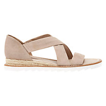 Buy Mint Velvet Tess Suede Espadrille Sandals, Mink Online at johnlewis.com