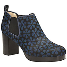 Buy Clarks Orla Kiely Audrey Leather Block Heeled Ankle Boots Online at johnlewis.com