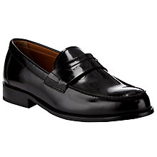 Buy John Lewis Anderson Loafers, Black Online at johnlewis.com