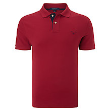 Buy Gant Contrast Collar Cotton Polo Shirt Online at johnlewis.com