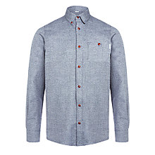 Buy Carhartt Cram Long Sleeve Shirt, Navy Online at johnlewis.com