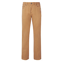 Buy Gant Jason Soft Twill Jeans, Tan Online at johnlewis.com