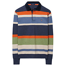 Buy Gant Stripe Heavy Rugby Shirt, Multi Online at johnlewis.com
