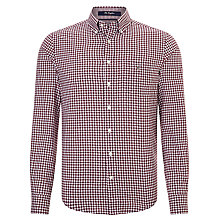 Buy Gant Gingham Cotton Long Sleeve Shirt Online at johnlewis.com