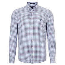Buy Gant Manhattan Two Colour Gingham Oxford Shirt Online at johnlewis.com
