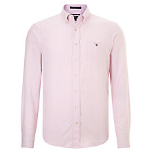Buy Gant Cross Town Stripe Oxford Shirt Online at johnlewis.com