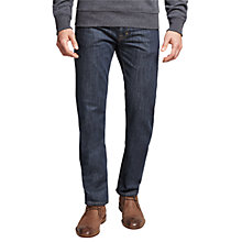 Buy Gant Tyler Connecticut Comfort Straight Jeans, Blue Online at johnlewis.com