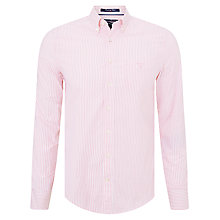 Buy Gant Oxford Striped Banker Shirt Online at johnlewis.com