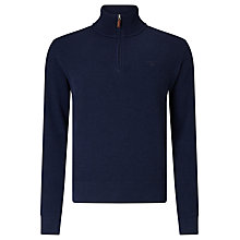 Buy Gant Sacker Half-Zip Jersey Top Online at johnlewis.com