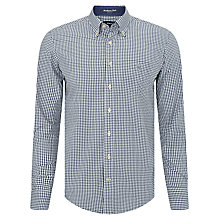 Buy Gant Brightwaters Gingham Shirt, Navy Online at johnlewis.com