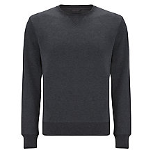 Buy Gant Sacker Jumper, Graphite Online at johnlewis.com