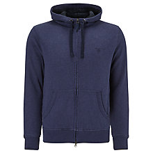 Buy Gant Sherling Hoodie, Dark Turquoise Online at johnlewis.com