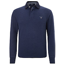 Buy Gant Basic Heavy Rugby Shirt Online at johnlewis.com