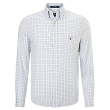 Buy Gant Hudson Poplin Tattersal Shirt Online at johnlewis.com