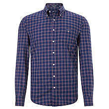 Buy Gant Bleeker Oxford Check Shirt, Blue Online at johnlewis.com