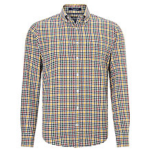 Buy Gant Greenwich Twill Shirt, Ivy/Gold Online at johnlewis.com