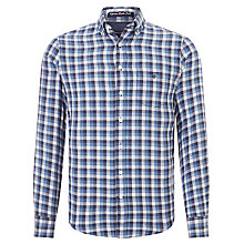 Buy Gant Edgemere Heather Twill Check Shirt Online at johnlewis.com