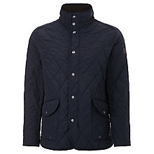 Buy Gant The Cosy Quilter Jacket, Navy Online at johnlewis.com