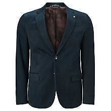 Buy Gant Casual Twill Blazer, Navy Online at johnlewis.com