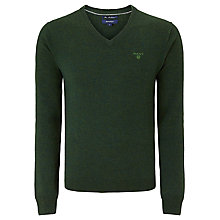Buy Gant Twelve Gage Lambswool V-Neck Jumper Online at johnlewis.com