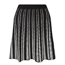 Buy Somerset by Alice Temperley Monochrome Mini Skirt, Black / White Online at johnlewis.com