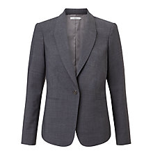 Buy John Lewis Gracie Melange Jacket, Grey Online at johnlewis.com