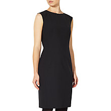 Buy John Lewis Gracie Fine Wool Cap Sleeve Dress, Black Online at johnlewis.com
