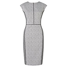 Buy John Lewis Jacquard Dress, White Online at johnlewis.com