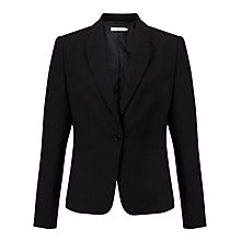 Buy John Lewis Fine Wool Jacket, Black Online at johnlewis.com