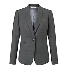 Buy John Lewis Birdseye Jacket, Black Online at johnlewis.com