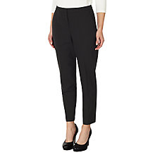 Buy John Lewis Gracie Fine Wool Slim Leg Trousers, Black Online at johnlewis.com